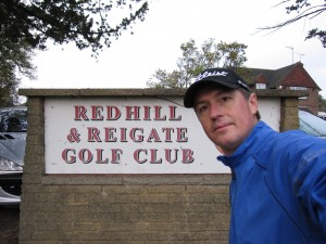 My first golf outing here in the UK. Course is narrow and short, putting a premium on well placed shots. The biggest challenge may be avoiding the dog poop and pedestrians milling about the public grounds upon which the private course sits.