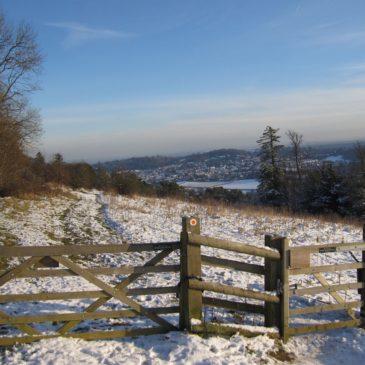 A snowy ramble